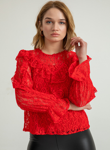 Foremia Bluz Kırmızı